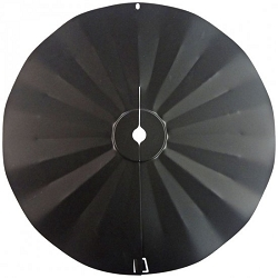 Pole Wraparound Disk Squirrel Baffle 22-1/2