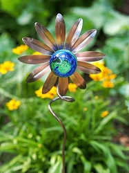 Illuminarie Sunflower Stake Set of 4