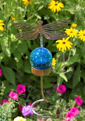 Dragonfly Solar Shadow Stake Set of 4