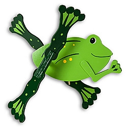 Classic Frog Whirligig