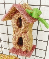 Gazebo House Spring Edible Bird Feeder