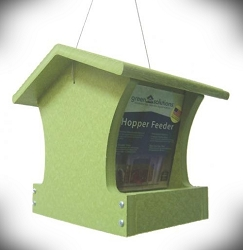 Green Solutions Recycled Plastic 2 Qt. Hopper Feeder