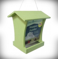 Green Solutions Recycled Plastic 5 Qt. Tall Hopper Feeder