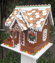 Candy Cottage Birdhouse