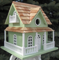 Classic Cape May Cottage Light Green