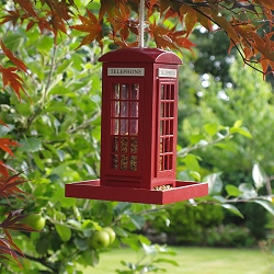 Telephone Booth Bird Feeder