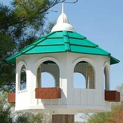 Belvedere Gazebo Bird Feeder