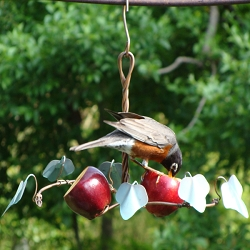 Copper Ivy Apple Feeder
