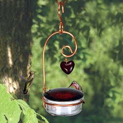Holland Hill Tweet Heart Hummingbird Feeder