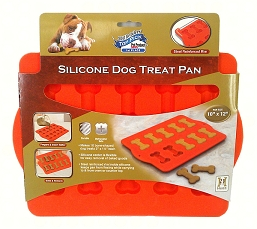Silicone Dog Treat Pan Bone Style