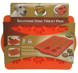 Silicone Dog Treat Pan Paw Style