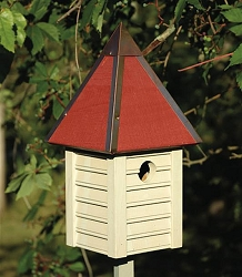 Gatehouse Bird House Smoke Grey