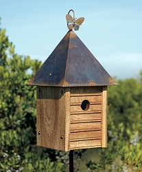 Homestead Mahogany Bird House