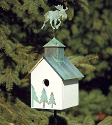 Sleepy Hollow Loose Moose Bird House