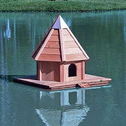 AquaDuck Floating Duck House
