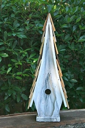 High Cotton Birdhouse White