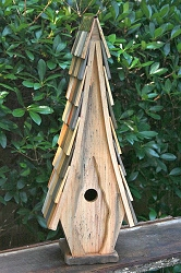 High Cotton Birdhouse Natural