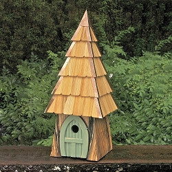 Lord of the Wing Birdhouse Moss Green