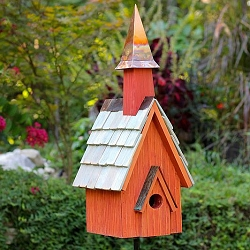 Pineywoods Chapel Bird House