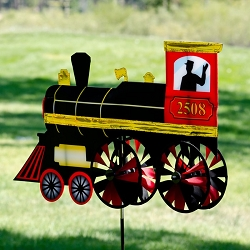 Steam Engine Wind Spinner 24