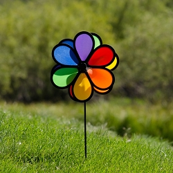 Double Flower 10 Inch Spinner