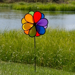 Double Flower 14 Inch Spinner