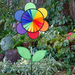 Flower Wheel Combo w/Leaves 19 inch Spinner
