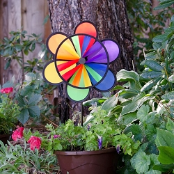 Flower Wheel Combo 12 Inch Spinner