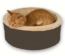 Thermo Kitty Bed Mocha