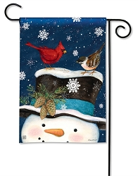 Winter Is Here Garden Flag