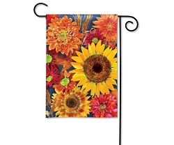 Autumn Toss Garden Flag