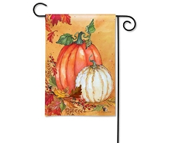 Traditional Pumpkin Garden Flag