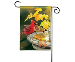 Pretty Reflection Garden Flag