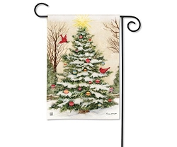 Decorate the Tree Garden Flag