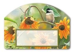 Sunflower Chickadee Yard DeSign