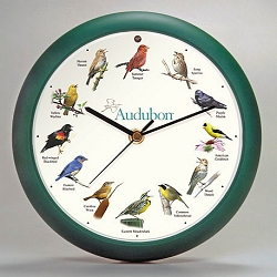 Audubon Singing Bird Clock 13