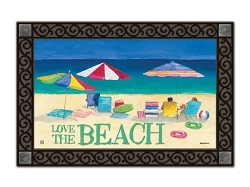 Love the Beach MatMate Doormat