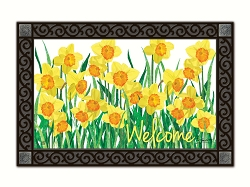 Daffodils in Bloom MatMate Doormat