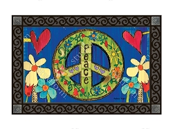 Peace Everywhere MatMate Doormat
