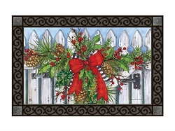 Holiday Garland MatMate Doormat