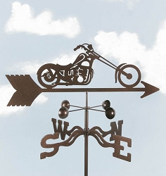 Motorcycle Chopper Weathervane