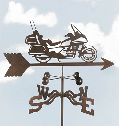 Motorcycle Tour Bike Weathervane