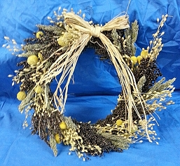 Norma's Halo Edible Wreath