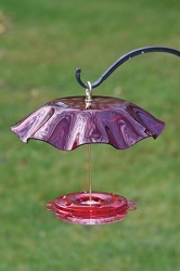 Translucent 12 oz. Hummerfest Hummingbird Feeder with Weatherguard