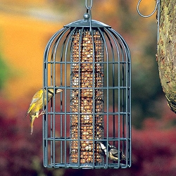 Nuttery Classic Extra Large Caged Peanut and Sunflower Feeder