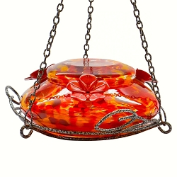 Garden Top Fill Hummingbird Feeder Molten