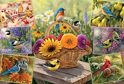 Rosemary's Birds 2000 Piece Jigsaw Puzzle