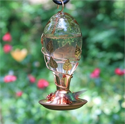 Avant Garden Looking Glass Hummingbird Feeder