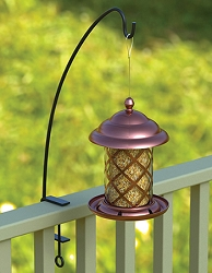 Copper Top Acorn Top Bird Feeder