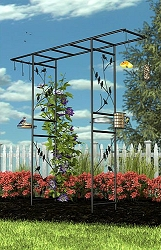 Panacea Garden Arbor and Bird Feeding Station